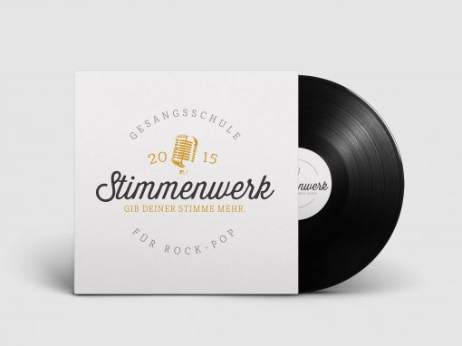 Stimmenwerk – Corporate Design
