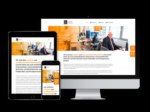 Steuerkanzlei Beierer – Webdesign