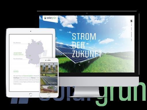 solargrün GmbH – Corporate Design & Web