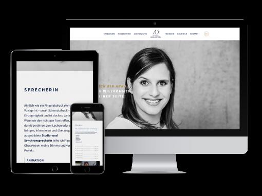 Anna Dressel – Webdesign