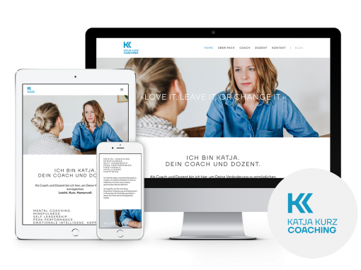 Katja Kurz Coaching – Corporate Design & Web